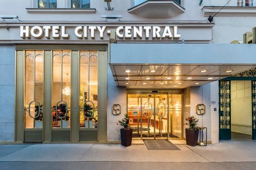Hotel City Central - Wien - Rakennus