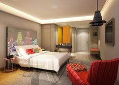 ビエンタイ ホテル ニア カオ サーン - バンコク - 寝室
