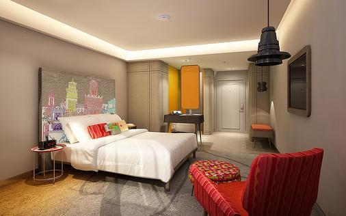 曼谷考山路韋恩泰宜必思尚品酒店 - 曼谷 - 臥室
