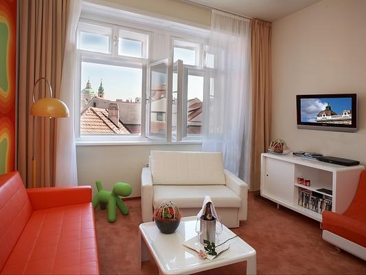 薩克斯復古設計酒店 - 布拉格 - 布拉格 - 客廳