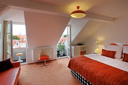 Vintage Design Hotel Sax - Praga - Stanza da letto