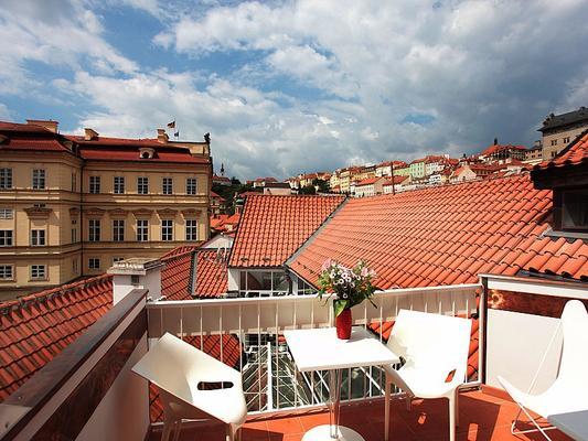 薩克斯復古設計酒店 - 布拉格 - 布拉格 - 陽台