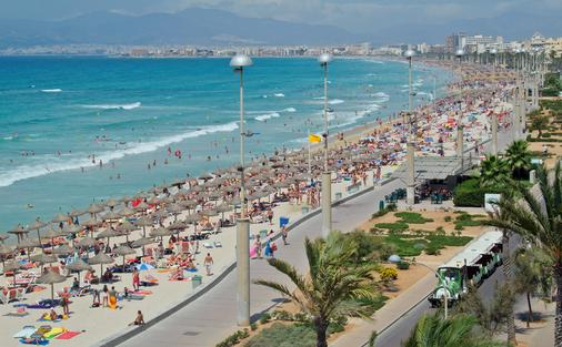 Hotel Hispania - Thành phố Palma de Mallorca - Bãi biển