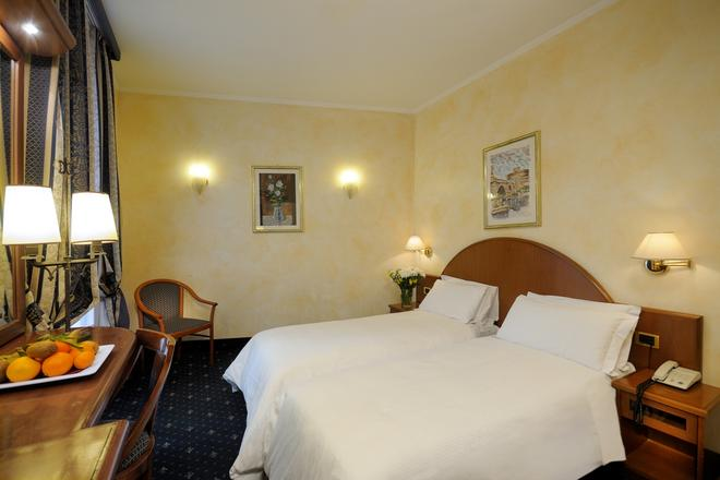 Al Manthia Hotel - Rome - Bedroom