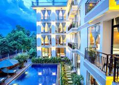 Central Blanche Residence - Ciudad de Siem Riep - Vista del exterior