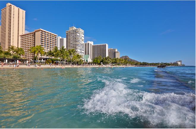 太平洋海灘酒店 - 檀香山 - 檀香山 - 海灘