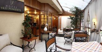 Hotel 3 Poniente - וינה דל מר - מסעדה