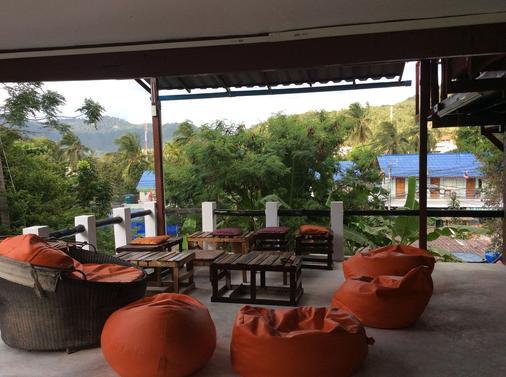 Moov Inn Garden Hostel - Ko Tao - Ban công