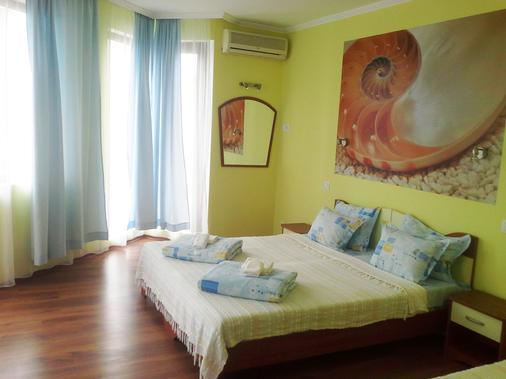 海藍寶石飯店 - 索佐波爾 - 臥室