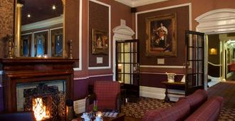 The Queen at Chester Hotel, BW Premier Collection - Chester - Sala de estar