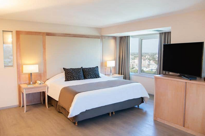 外交酒店 - 曼多薩 - 門多薩 - 臥室