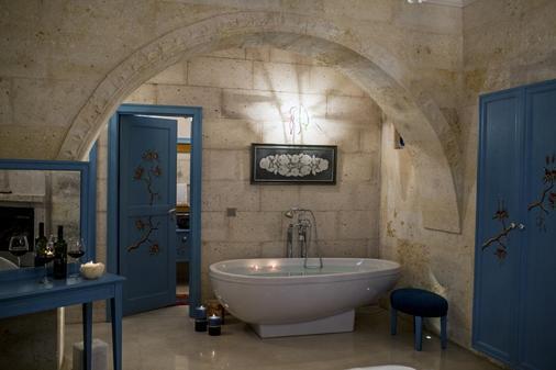 Anatelein Boutique Cave Hotel - Special Class - Uchisar - Kylpyhuone