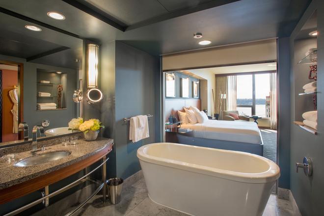 โรงแรมโลว์ส 1000 ซีแอตเทิล - ซีแอตเทิล - ห้องน้ำ