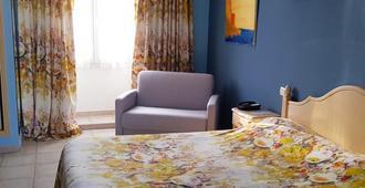 Hôtel Les Palmiers - Saint-Tropez - Bedroom