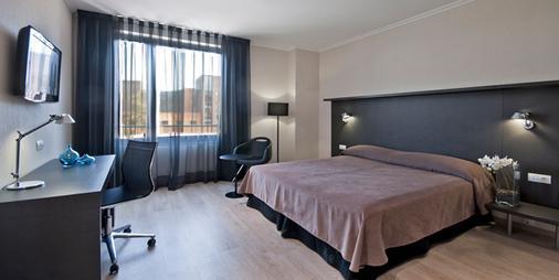 ホテル アリマラ - バルセロナ - 寝室