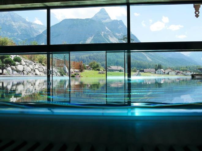 Romantik Hotel Spielmann - Ehrwald - Pool