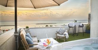 Tlv 88 Sea Hotel - Tel Aviv - Balkon