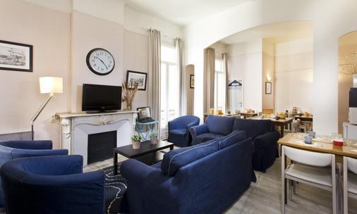Hotel Sylvabelle - Marseille - Living room