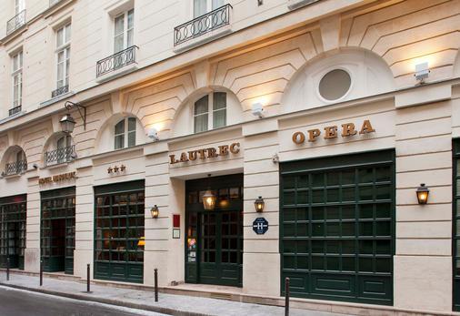 Lautrec Opera - Pariisi - Rakennus