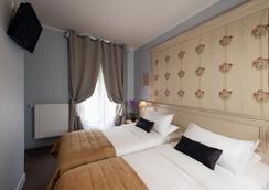 Hôtel de Bellevue Gare du Nord - Paris - Bedroom