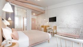 Hotel le Lapin Blanc - Pariisi - Makuuhuone