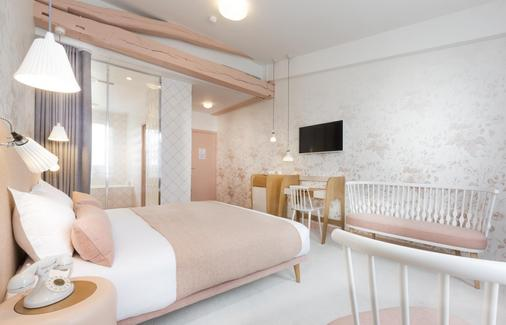 Le Lapin Blanc - Paris - Bedroom