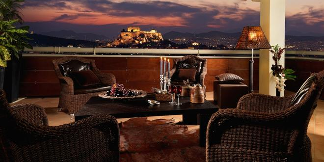 迪瓦尼卡拉維爾酒店 - 雅典 - 雅典 - 陽台