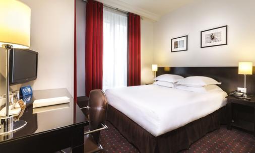 Albe Hôtel Saint-Michel - Pariisi - Makuuhuone