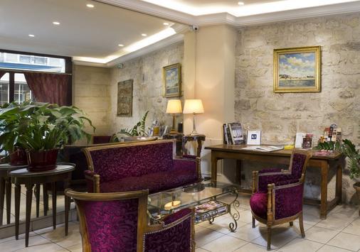 Hotel Cujas Pantheon - París - Recepción