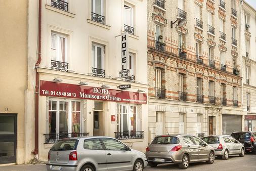 Hotel Montsouris Orleans - Paris - Toà nhà