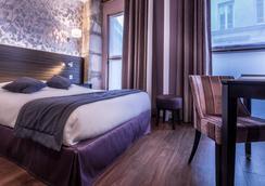 Hotel De Senlis - Pariisi - Makuuhuone