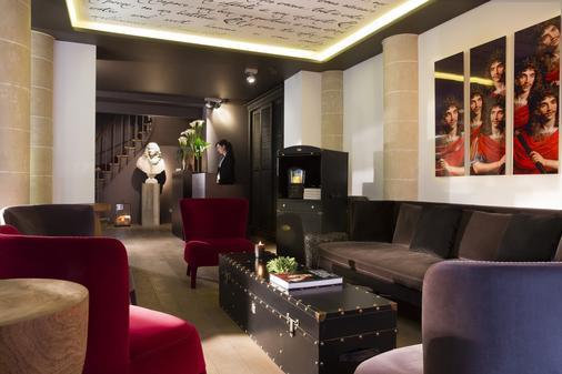 Hôtel Moliere - Paris - Lễ tân