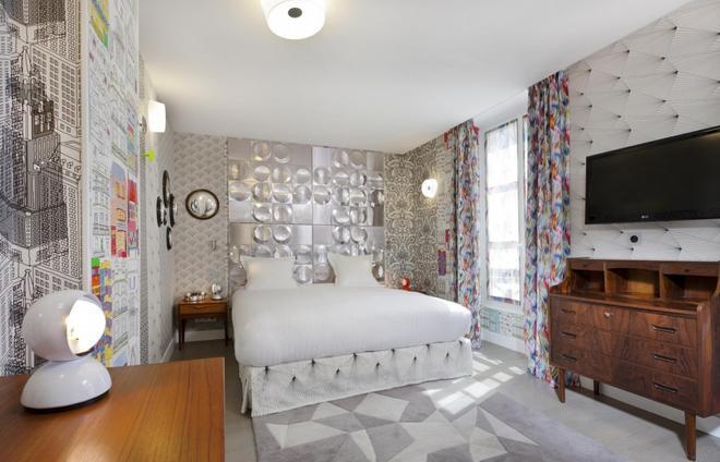 Hotel Crayon By Elegancia - Παρίσι - Κρεβατοκάμαρα