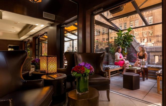 圖書館飯店 - 紐約 - 休閒室