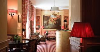 Hotel de l'Abbaye - Pariisi - Oleskelutila