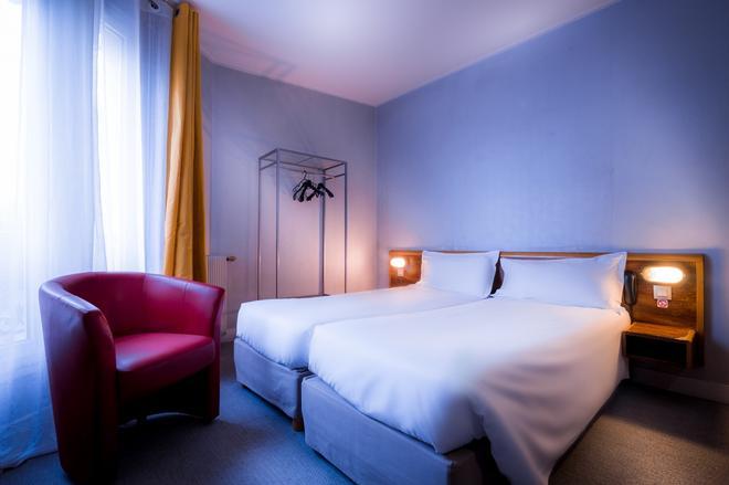 巴黎穆林弗特酒店 - 巴黎 - 巴黎 - 臥室