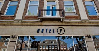 Hotel V Frederiksplein - Amsterdam - Rakennus