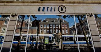 โฮเทล วี เฟรเดอริคส์ไพลน์ - อัมสเตอร์ดัม - อาคาร