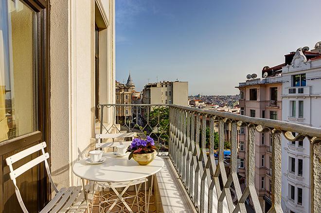 加拉塔古董酒店 - 特級 - 伊斯坦堡 - 伊斯坦堡 - 陽台