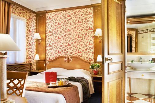 Hotel De Fleurie - Pariisi - Makuuhuone