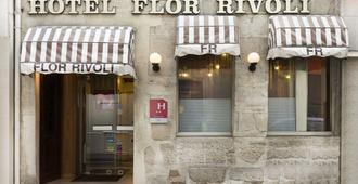 Hotel Flor Rivoli - Paris - Toà nhà