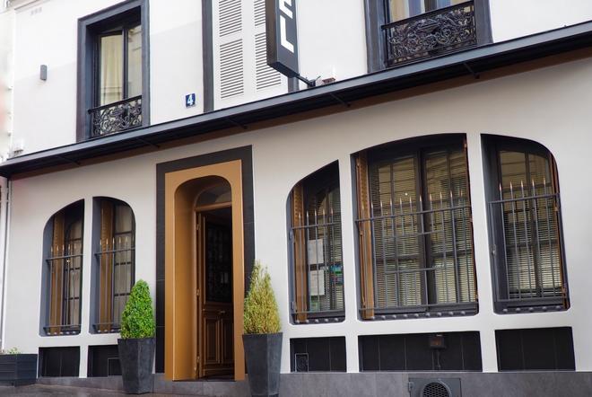 Hotel Nation Montmartre - París - Edificio