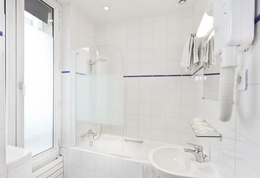 拉夏貝爾北部巴黎火車站酒店 - 巴黎 - 巴黎 - 浴室