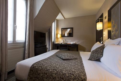 Hotel Elysees Bassano - Pariisi - Makuuhuone