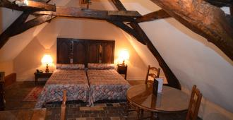 Hotel des Remparts - Beaune - Bedroom