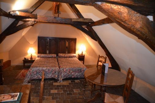 Hotel des Remparts - Beaune - Bedroom