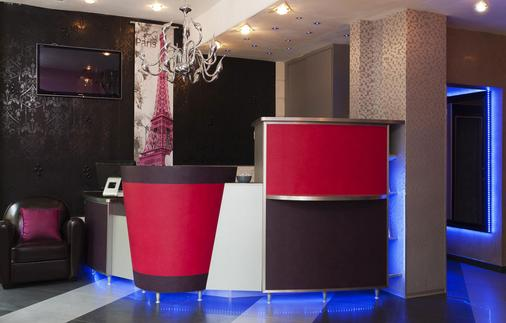 Hotel Le Relais du Marais - Paris - Front desk
