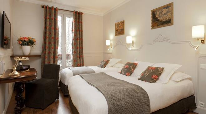 Hotel De La Porte Dorée - Paris - Schlafzimmer