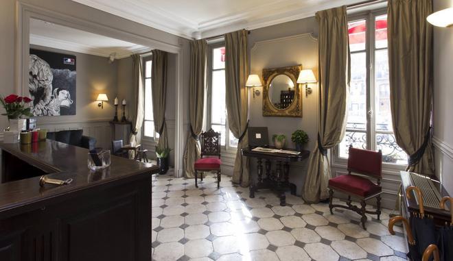 Hotel De La Porte Dorée - Paris - Lobby