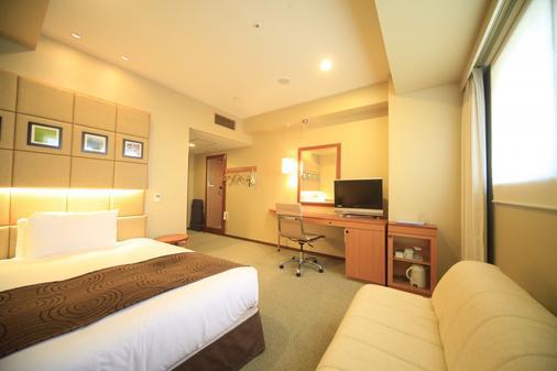 Hotel Sunroute Higashi Shinjuku - Tokio - Makuuhuone